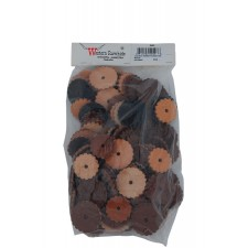 REPLACEMENT ROSETTES WITH HOLE - 1-1/4 INCH