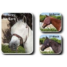 KENSINGTON NATURAL COLLECTION FLY MASK WITH WEB TRIM-NO EARS