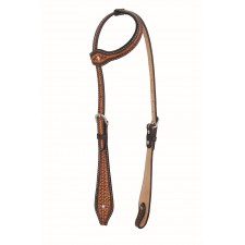 WESTERN RAWHIDE BY JIM TAYLOR PERFORMANCE INFINITY SERIES TEAR DROP ONE EAR HEADSTALL