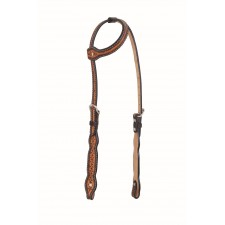 WESTERN RAWHIDE BY JIM TAYLOR PERFORMANCE INFINITY SERIES SCALLOP ONE EAR HEADSTALL