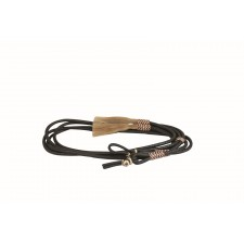 WESTERN RAWHIDE BY JIM TAYLOR SOFT LEATHER SPLIT REINS