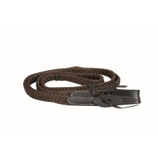 WESTERN RAWHIDE BY JIM TAYLOR SOFT TOUCH ROPING REINS