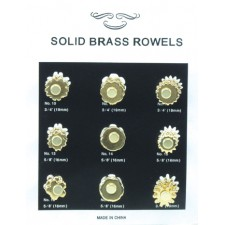 9 PAIR ROWEL CARD - SMALL