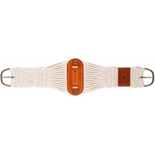 MUSTANG 27-STRAND WOOL BLEND ROPER CINCH WITH STAINLESS STEEL BUCKLES