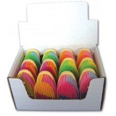 BRUSH DISPLAY, ASSORTED COLOURS, 12/DISPLAY