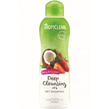 TROPICLEAN BERRY & COCONUT SHAMPOO - 592 ML READY TO USE