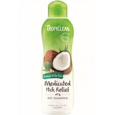 TROPICLEAN OATMEAL & TEA TREE SHAMPOO - 592 ML READY TO USE