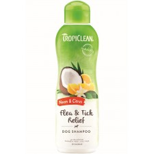 TROPICLEAN NEEM & CITRUS SHAMPOO - 592 ML READY TO USE