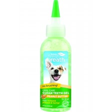 TROPICLEAN FRESH BREATH ORAL CARE GEL FOR DOGS, PEANUT BUTTER, 118 ML