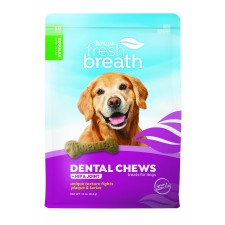TROPICLEAN FRESH BREATH HIP & JOINT DENTAL CHEWS, 10 PER PACK