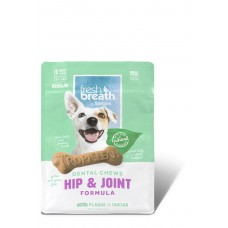 TROPICLEAN FRESH BREATH HIP & JOINT DENTAL CHEWS, 10 PER PACK
