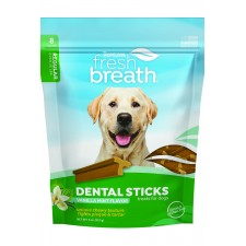 TROPICLEAN FRESH BREATH DENTAL CHEWS, LARGE DOG, 10/PACK