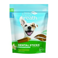 TROPICLEAN FRESH BREATH DENTAL CHEWS, SMALL DOG, 20/PACK