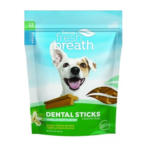 TROPICLEAN FRESH BREATH DENTAL CHEWS, SMALL DOG, 12/PACK