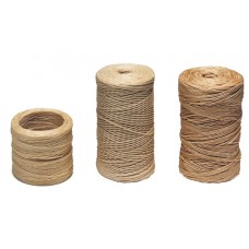 WAXED NYLON TAN THREAD FOR SPEEDY STITCHER - 30 YARD, COARSE