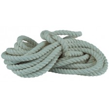 COTTON ROPE - 50' HAND, 3/4""