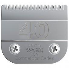 WAHL COMPETITION SERIES DETACHABLE BLADES - #40-SURGICAL