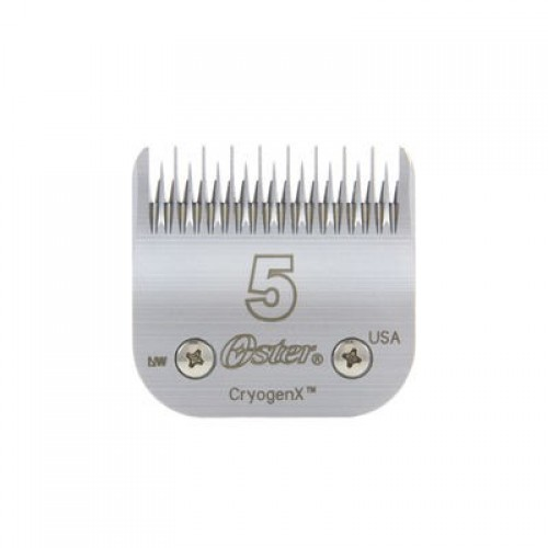 OSTER A-5 DETACHABLE CRYOTECH BLADES - #5ST - SKIP TOOTH
