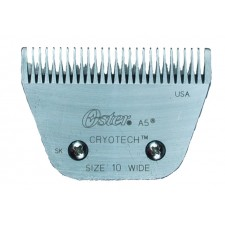 OSTER A-5 DETACHABLE CRYOTECH BLADES - EXTRA-WIDE #10 REGULAR