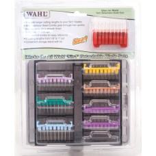 WAHL 5 IN 1 BLADE STAINLESS STEEL GUIDE COMB KIT