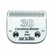 ANDIS AG DETACHABLE BLADES - #30 - CLOSE CUT