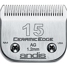ANDIS AG DETACHABLE BLADES - #15 - MEDIUM CUT