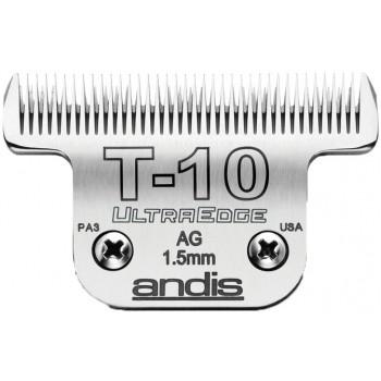 "ANDIS ULTRAEDGE BLADE SET T-10 ULTRAEDGE BLADE. 1/16"" - 1.5MM. T-10."