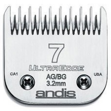 ANDIS AG DETACHABLE BLADES - #7ST - SKIP TOOTH