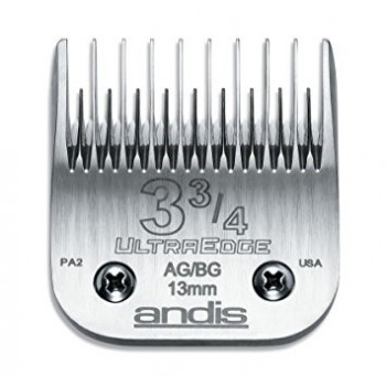 "ANDIS AG DETACHABLE BLADES - 3 3/4"" ST - SKIP TOOTH"