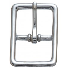 "#121 BRIDLE BUCKLE - 1/2"" CHROME"