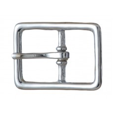"#121 BRIDLE BUCKLE - 1/2"" NICKEL"