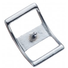 "#210 CONWAY BUCKLE - 5/8"" CHROME"