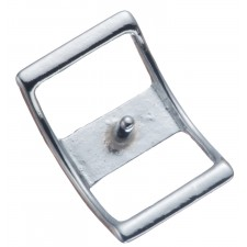 "#210 CONWAY BUCKLE - 1 1/4"" CHROME PLATED BRONZE"
