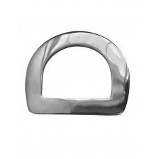 STAINLESS STEEL FLAT RIGGING DEE, 3""