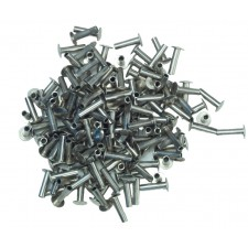 TUBULAR RIVETS - NICKEL PLATED - 6/16""