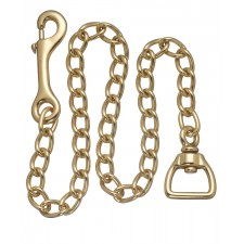 """30"""" LEAD CHAINS - BRASS PLATED"""