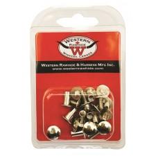 "WESTERN RAWHIDE 1/4"" CHICAGO SCREW PACK"