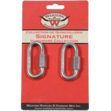 "ZINC PLATED QUICK LINK 6 MM, 1/4"" X 2 1/4"""