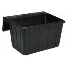 FORTEX RUBBER OVER FENCE FEEDER, 18 QT/17 L