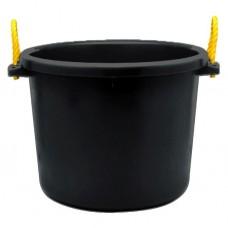 FORTIFLEX MULTI-PURPOSE BUCKET, 70 QT/66 L - BLACK ONLY