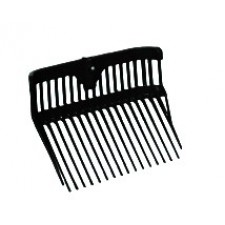 FORTIFLEX PLASTIC STALL FORK REPLACEMENT HEAD - BLACK ONLY
