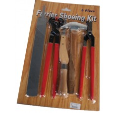 6 PIECE FARRIER SHOEING KIT
