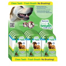 TROPICLEAN FRESH BREATH DROPS - DISPLAY